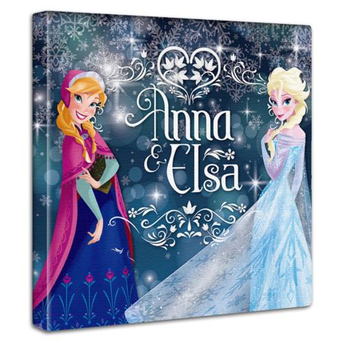 アナと雪の女王のファブリックパネル