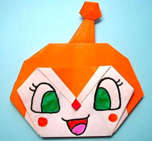 折り紙の キャラクターの折り紙の作り方 : mamari.jp