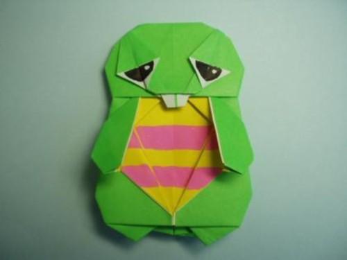 簡単 折り紙 : 折り紙折り方キャラクターアンパンマン : mamari.jp