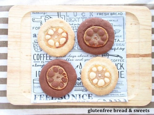 れんこんの米粉クッキー