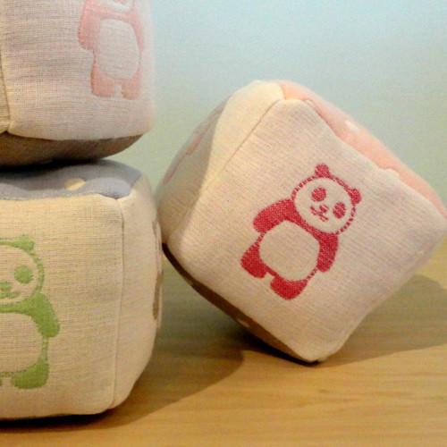 自然素材から作るbabyのおもちゃ ころころサイコロ・キット
