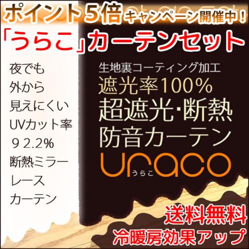 URACO(うらこ)カーテンセット