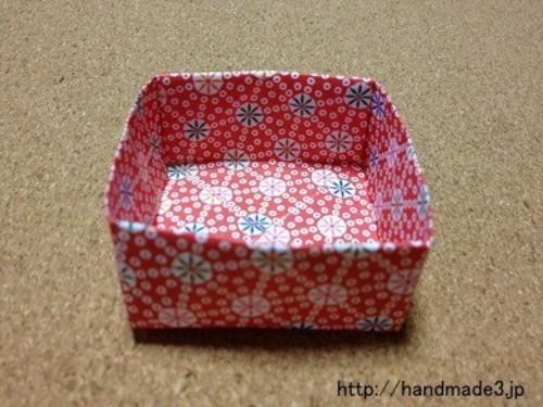 豆箱 折り紙