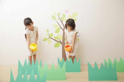 木 植える