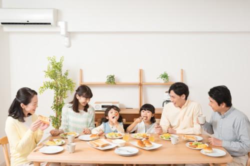 家族 白ご飯