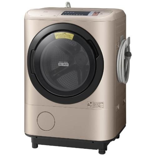 日立  ビッグドラム (洗濯12.0kg/乾燥6.0kg)BD-NX120AR-N シャンパン