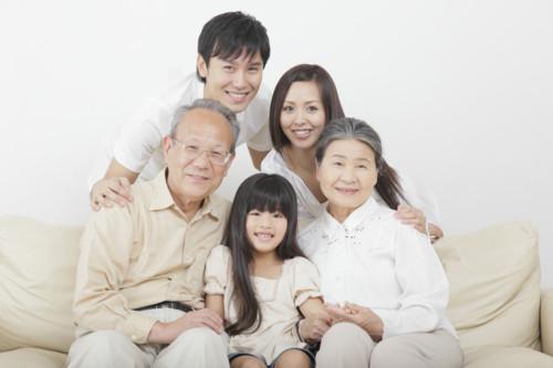 家族 おばあちゃん