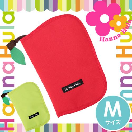 母子手帳ケース ハンナフラ M | アップルシリーズ【ネコポスOK】出産祝い 女の子 男の子 Hanna Hula