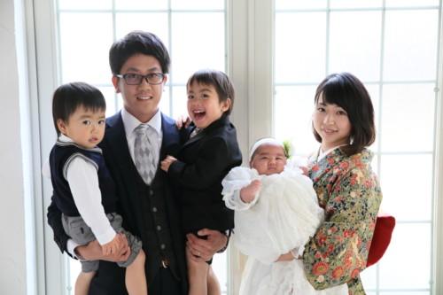 5人 家族