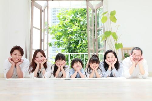 家族 日本 親
