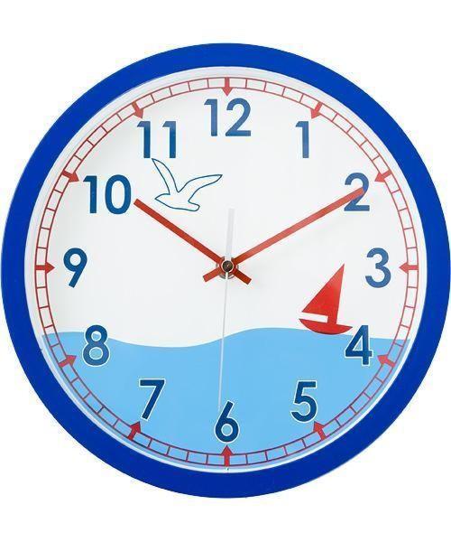 掛け時計(ヘルム) ニトリ 【送料有料・玄関先迄納品】 【1年保証】