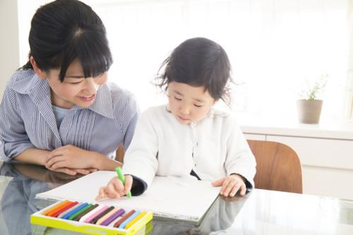 ママ 子供 日本 園児