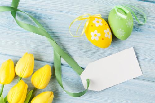 花 黄色 緑