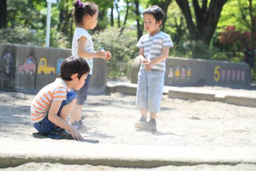 3歳 子供たち