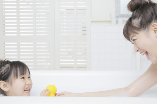 入浴 親子