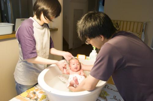 家族 新生児