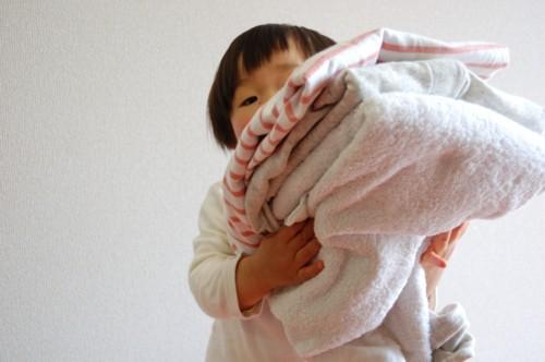 手伝い 洗濯