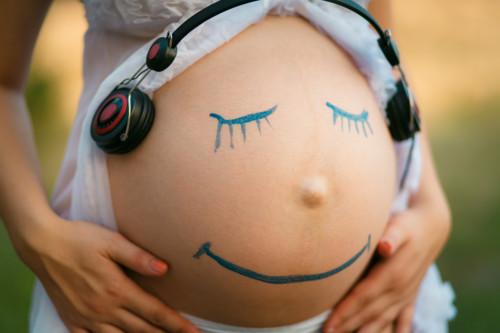 音楽 妊婦