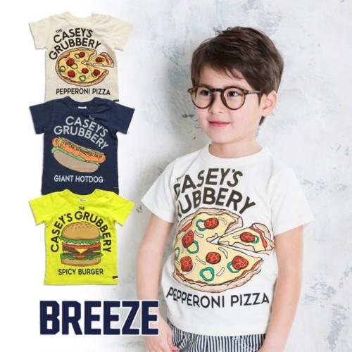 ジャンクフードプリントTシャツ