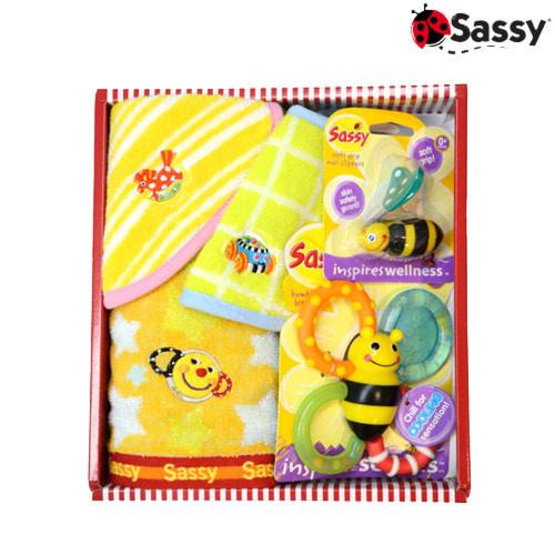 出産祝いセット スマイリーオレンジ(Sassy サッシー)