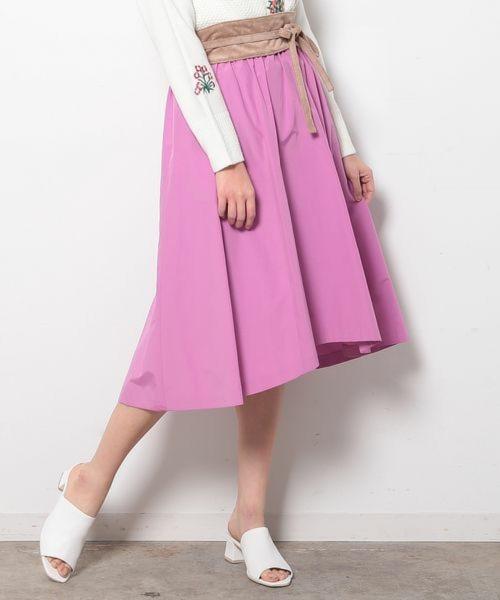 【追加予約】フィッシュテールギャザースカート