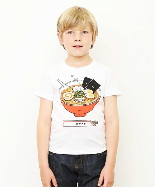 キッズTシャツ/ラーメンクン