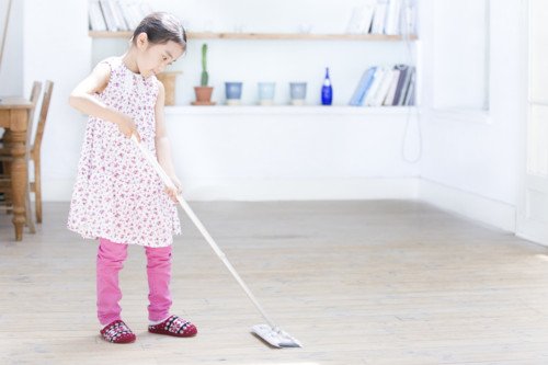 子供 掃除