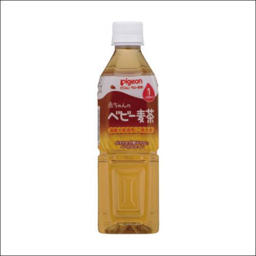 ピジョン ペットボトル飲料 赤ちゃんのベビー麦茶 500ml