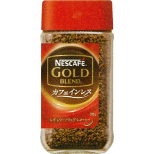 ネスレ日本 ネスカフェ ゴールドブレンド カフェインレス 80g