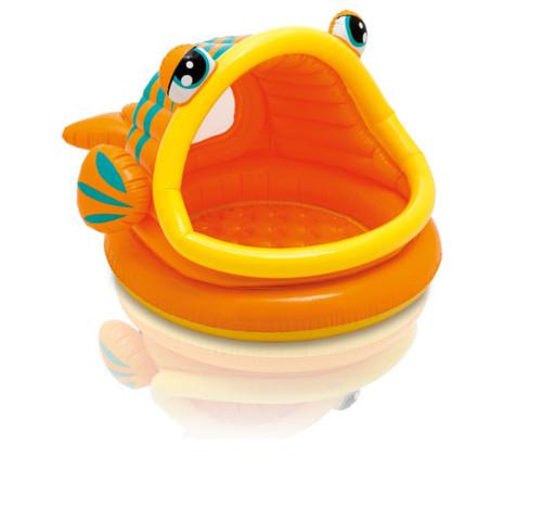 Lazy Fish Shade Baby Pool ファミリープール
