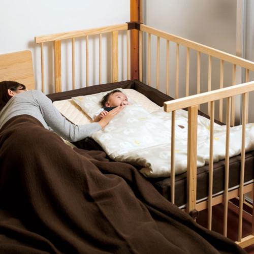 ファルスカ ベッドサイドベッド03+ファルスカ コンパクトベッドフィットL
