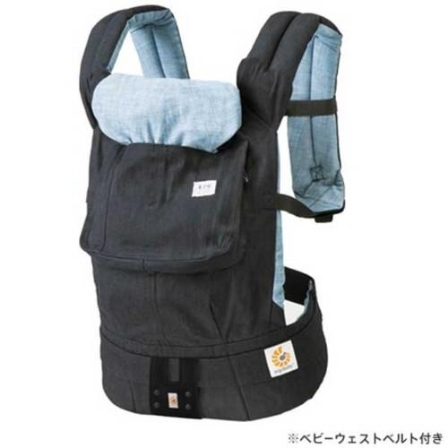 Ergobaby Baby carrier デザイナーコレクション Designer Collection Lee ジェルトデニム インディゴ(日本限定) CREGBCALEE
