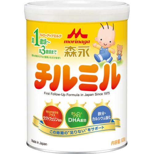 森永乳業 チルミル大缶 820g