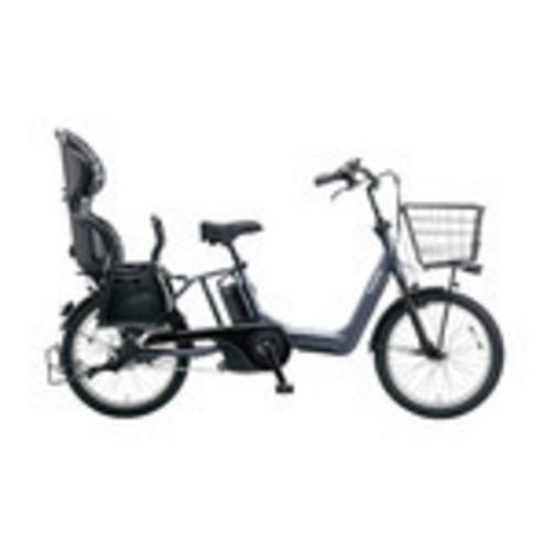 Panasonic BE-ELMA03AN 20インチ 電動自転車 3段 ギュット・アニーズ・DX プラズマグレー [BE-ELMA03AN]