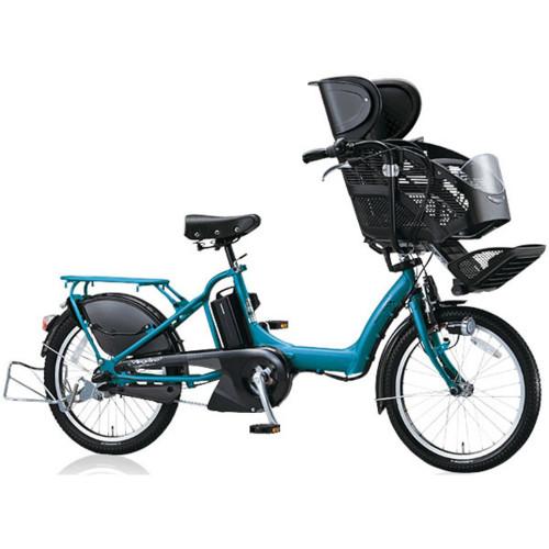 ブリヂストン(BRIDGESTONE) 電動子供乗せ自転車 Angelino petite e(アンジェリーノプティットe) A20L26 E.エスニックターコイズ 8.7Ahバッテリー(C200)