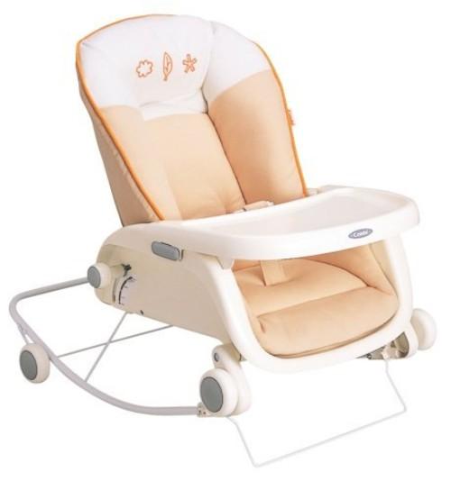 コンビ Combi ローラックチェア プルメア S ペールオレンジ (新生児~2歳頃対象)