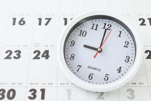 カレンダー 時計