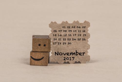 11月 カレンダー