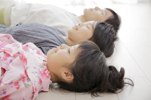 昼寝 子供 複数