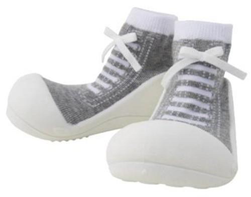 ベビーフィート ベビーシューズ スニーカー baby feet (11.5cm, スニーカー グレー(02))