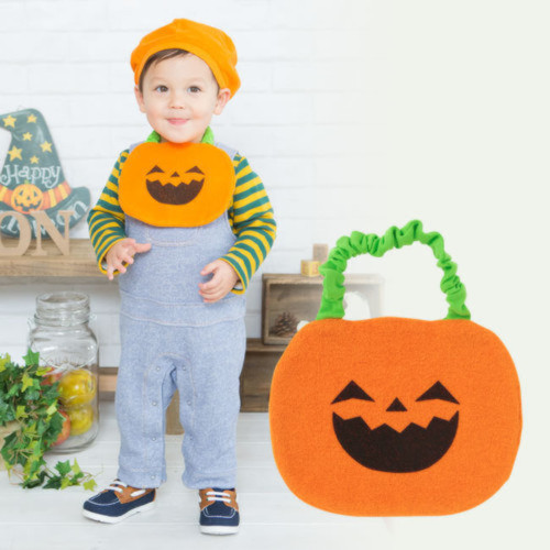 ベビーかぼちゃスタイ