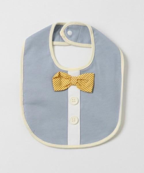 蝶ネクタイ付きスタイ