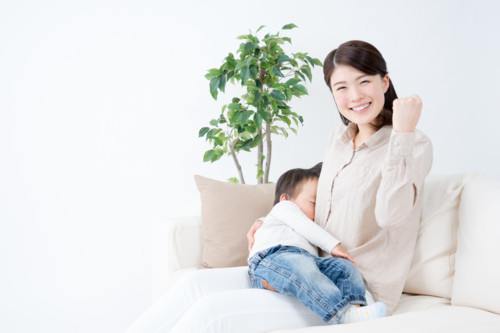母子 日本人