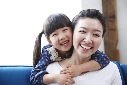 ママ 笑顔