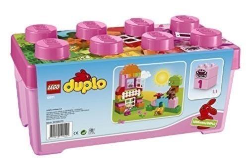 LEGO デュプロ ピンクのコンテナデラックス