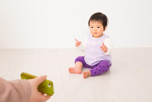 携帯 赤ちゃん