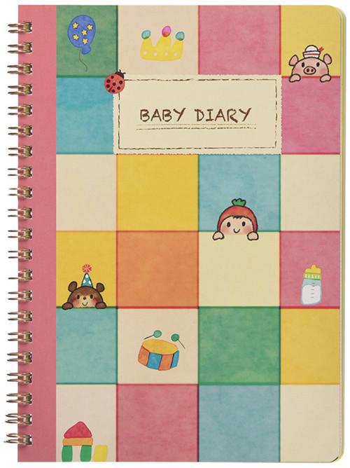 銀鳥産業 赤ちゃんの成長日記育児日記