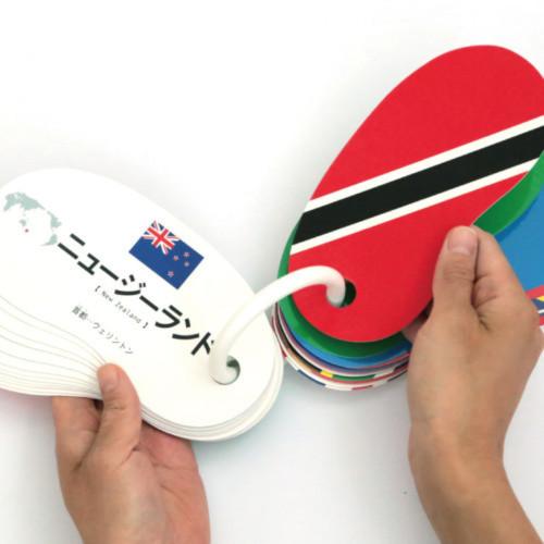 戸田デザイン研究室 リングカード 国旗