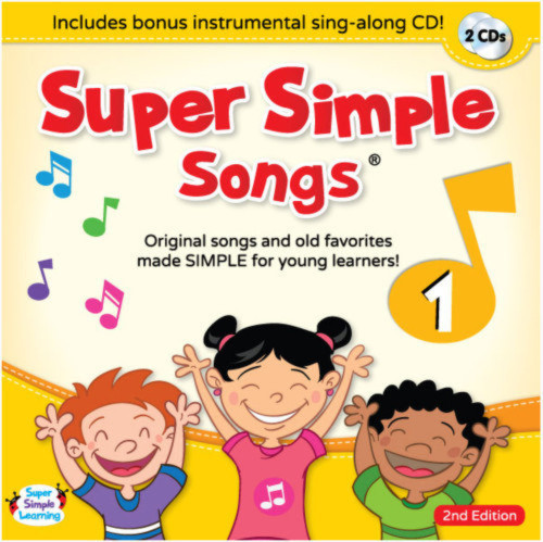 Super Simple Songs1 CD