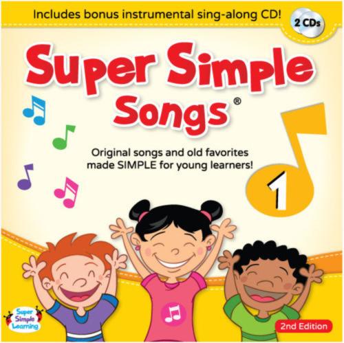 Super Simple Songs1 CD